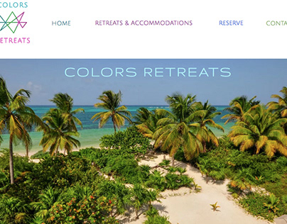 Colors Retreats Graphic Design