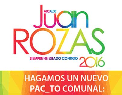 Campaña Juan Rozas Pac 2016