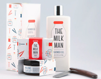 The Milk Man, Men's Grooming Products