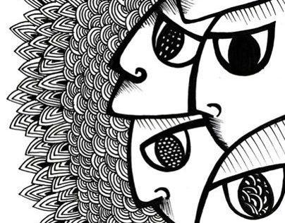 Ilustraciones - Serie Líneas