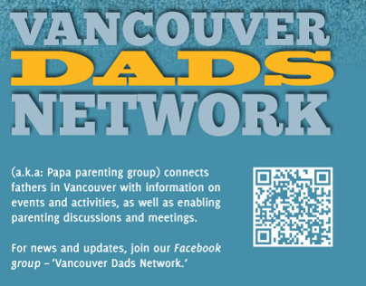 Vancouver Dads Network Poster