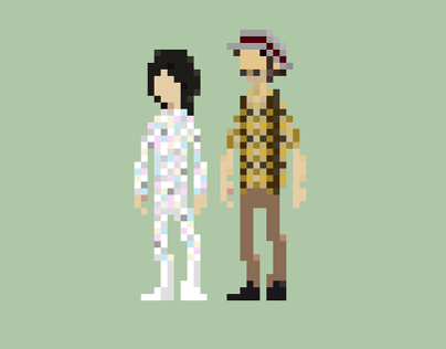 Mighty Boosh Pixels