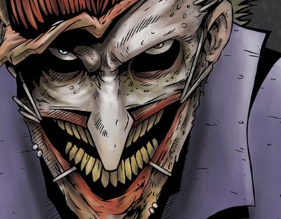 The Joker and a Bat