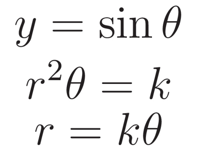 Beauty of numerical formulas