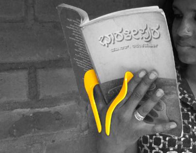 Book Holder for Travellers