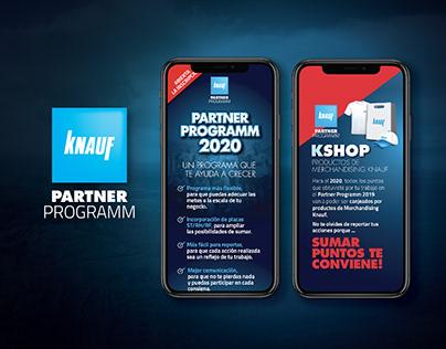 Knauf Partner Programm | Branding
