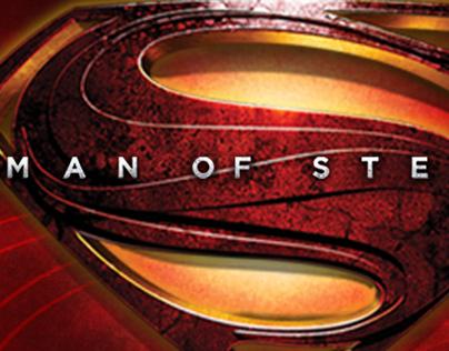 Man of Steel™--logos/branding Mattel Toys