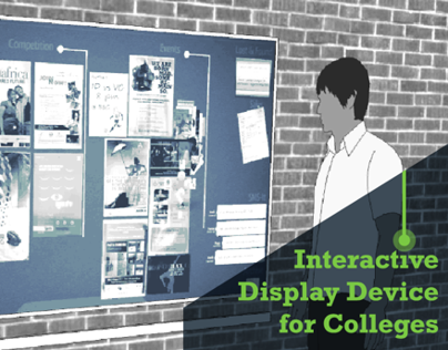 Interactive Display Device for Colleges