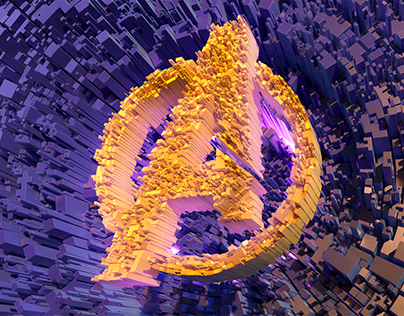 Avengers fan art - Avengers abstract logo