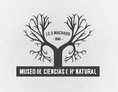 Museo de Ciencias e Hª Natural I.E.S Machado Logo