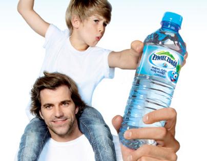 """ŻYWIEC ZDRÓJ - Akcja """"Mamo, tato, wolę wodę"""" 2011 r."""