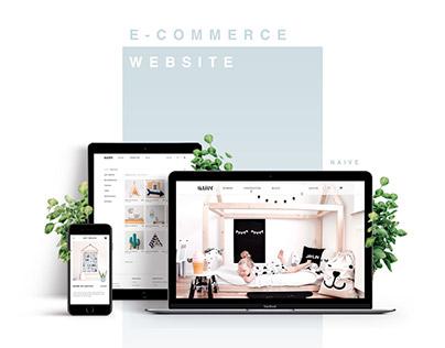 Naive - Web Design Concept