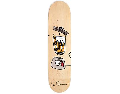 Catastrophical Ravage - Skateboard