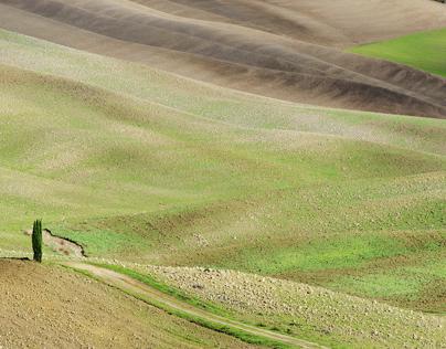 Le distese azzurre e le verdi terre
