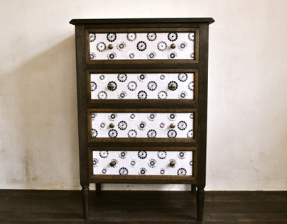 fabric chest large
