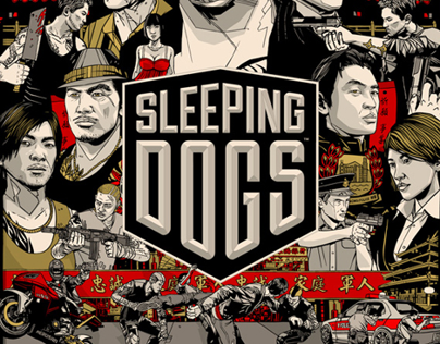 SLEEPING DOGS - Branding and Launch Campaign
