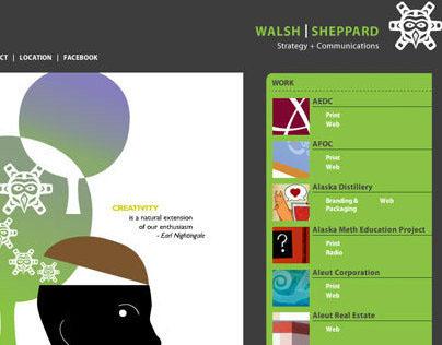 Walsh Sheppard Website