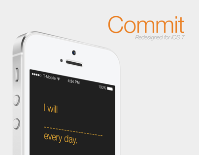 Commit iOS 7 redesign