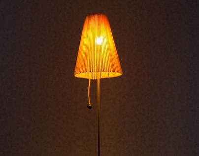 Garbage Lamp - Lampara
