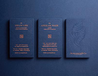 Alexandr & Co - Business Card