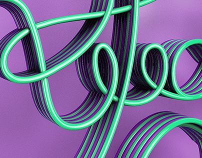 All You Need Is Love / 3D Lettering