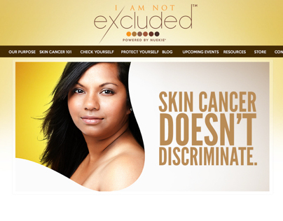 I Am Not Excluded | Branding, Print Work, & Web Design