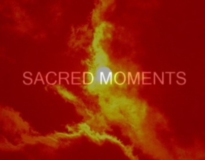 Sacred Moments (Image and Text)