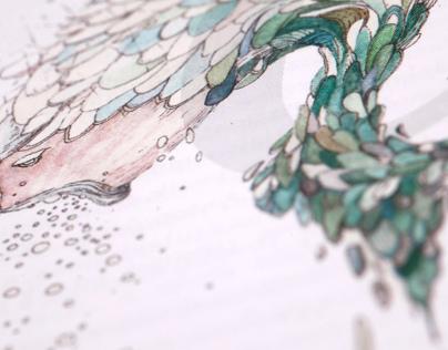 Illustrations for Nyugat Most Magazine
