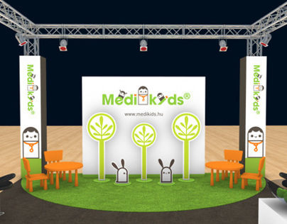 MediKids 3D visuals