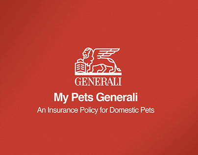 Pet Insurance Policy for Generali ( Concept Project )