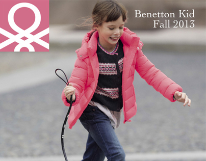 Benetton Girl and Toddler Fall 2013