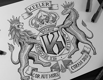 Coat of Arms design - Keeler