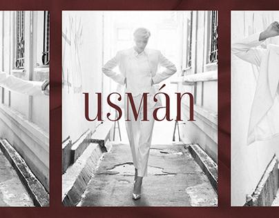 """Logo design for """"Usman"""" atelier"""