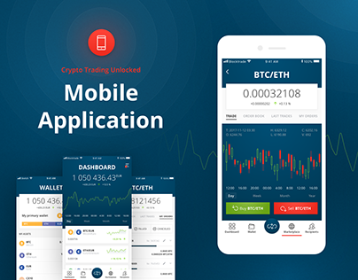 CryptoCurrency Exchange Mobile Application - Blocktrade