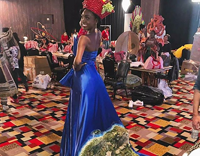 Costumes: Miss Haiti for MISS UNIVERSE 2017