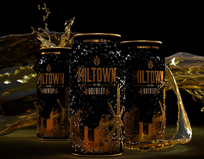 MILTOWN BREWERY - Beer Can Design