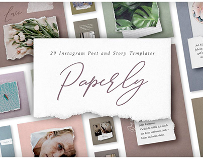 Paperly Instagram Post Templates
