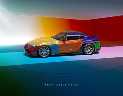 CGI Toyota Supra