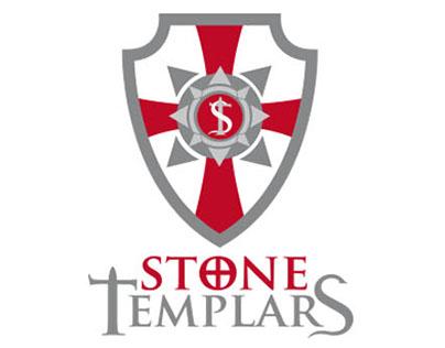 Logo, web, textil StoneTemplars