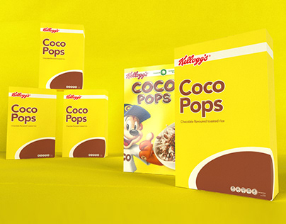 Daily Project | Cereal Packaging Design | Coco Pops