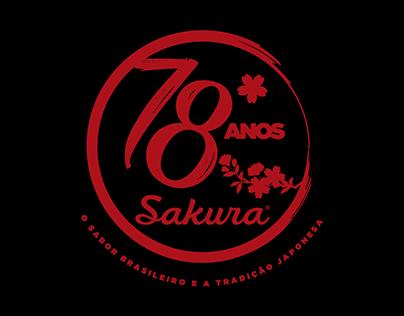 Sakura Alimentos | Aniversário 78 anos