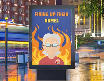 Burger King // Age Uk Project - Firing up their homes
