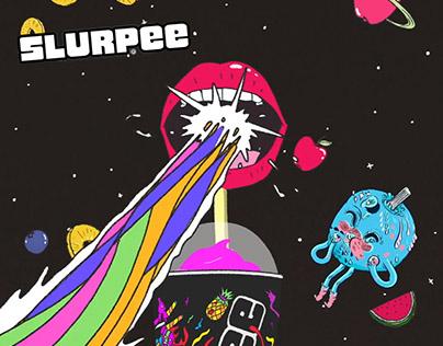 Slurpee Australia | Zilched Sour Animations