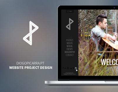 Diogo Piçarra Website