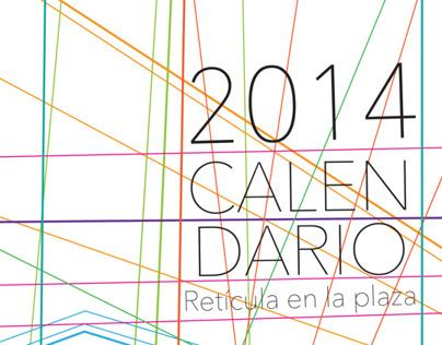 Calendario -Reticula en la Plaza-