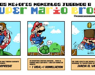 Super Mario Bros - Comic