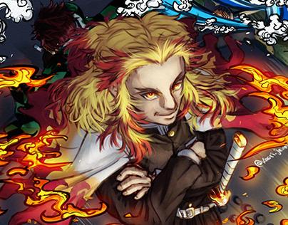 Rengoku Kyojuro - Demon Slayer