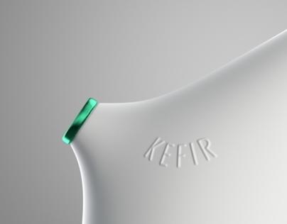 Kefir bottle concept