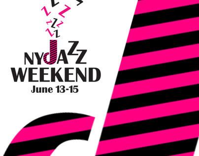 NYC Jazz Weekend Poster