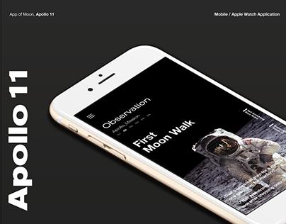 Apollo 11, App of Moon